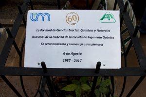 Lapacho. Fue donado por la Facultad de Ciencias Forestales de Eldorado