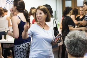 Docentes y no docentes de la FCEQyN participaron del brindis de fin de año realizado en Aula Magna